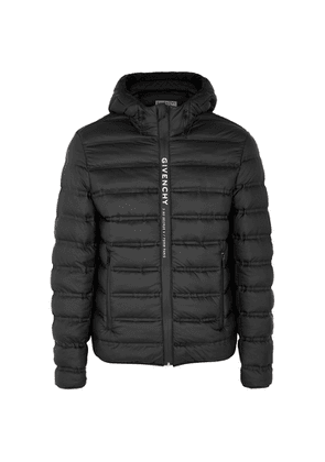 Givenchy Black Quilted Shell Jacket