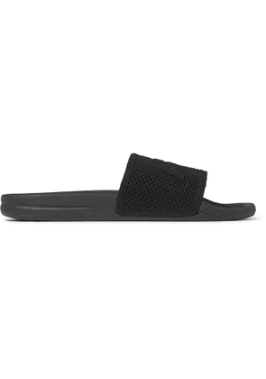APL Athletic Propulsion Labs - TechLoom Logo-Embossed Slides - Men - Black