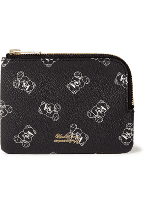 Undercover - UBEAR Printed Faux Leather Wallet - Men - Black