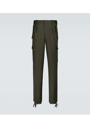 Double hemmed cargo pants