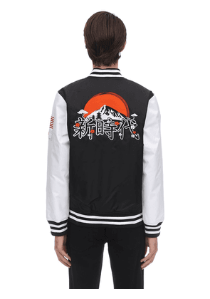 Far East Nylon Varsity Jacket