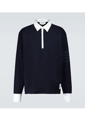 Long-sleeved rugby polo shirt