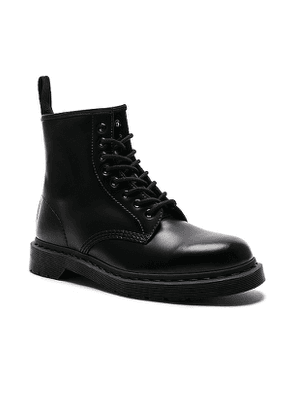 Dr. Martens 1460 8-Eye Mono Boot in Black. Size 12,7,8,9.