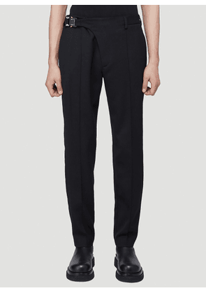 1017 ALYX 9SM Cresent Pants in Black size IT - 50