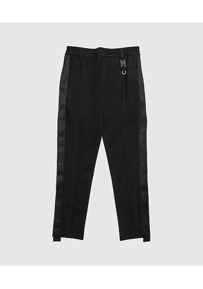 TAILORED BUCKLE TRACK PANT