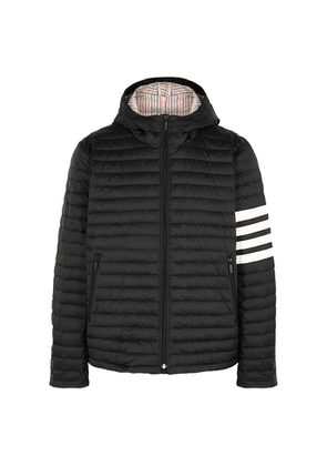 Thom Browne Black Quilted Shell Jacket
