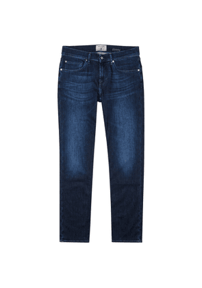 7 For All Mankind Slimmy Weightless Blue Slim-leg Jeans