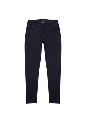 7 For All Mankind Slimmy Tapered Luxe Performance Slim-leg Jeans