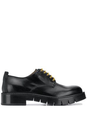 Salvatore Ferragamo ridged sole brogues - Black