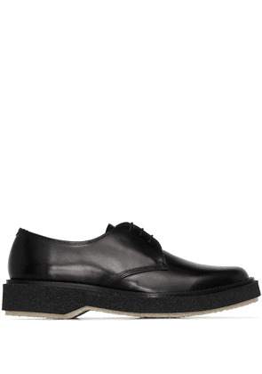 Adieu Paris lace-up leather Derby shoes - Black