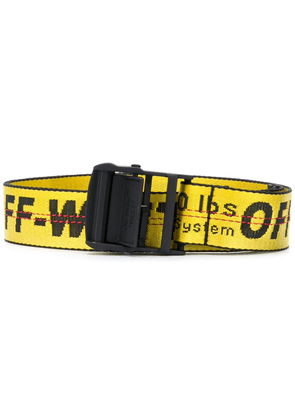 Off-White Industrial buckle belt - Yellow