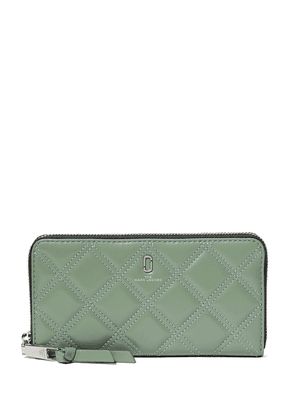 Marc Jacobs The Quilted Softshot continental wallet - Green