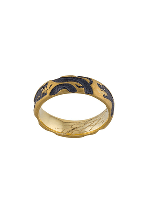 Castro Smith 9kt yellow gold 3 Serpents ring