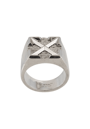 Off-White arrows ring - SILVER