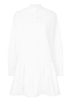 Calvin Klein 205W39nyc peplum shirt dress - White