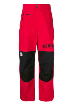 Supreme tnf arc logo mountain trousers - Red