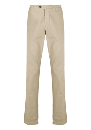 Eleventy slim-fit tailored trousers - NEUTRALS