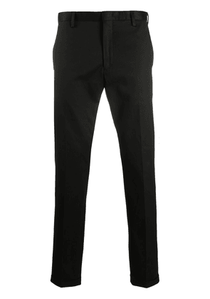 Paul Smith mid-rise tapered trousers - Black