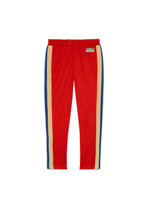 Technical jersey jogging bottoms