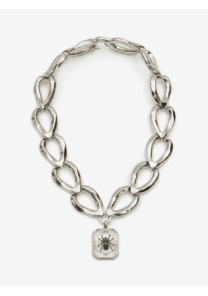 ALEXANDER MCQUEEN Spider Faceted Chain Necklace - Item 611296I134Y9269