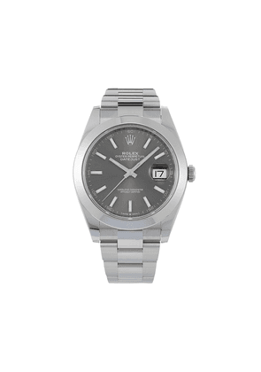 Rolex unworn Oyster Perpetual Datejust 41mm - Grey