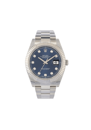 Rolex unworn Oyster Perpetual Datejust 41mm - BLUE