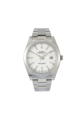Rolex unworn Oyster Perpetual Datejust 41mm - WHITE