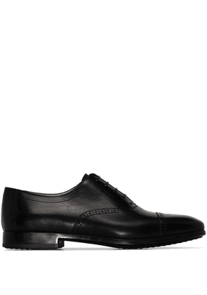 Salvatore Ferragamo Riley leather brogues - Black