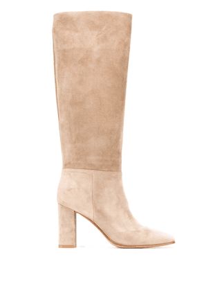Gianvito Rossi Hynde 90mm knee-high boots - Neutrals