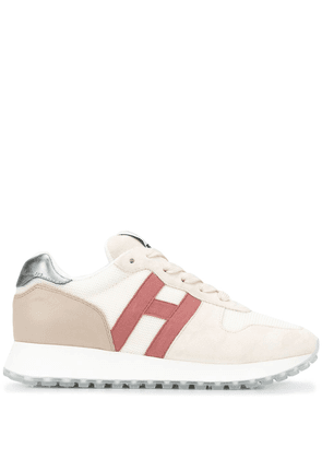 Hogan lace-up low-top sneakers - NEUTRALS