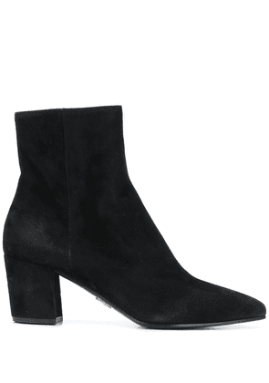 Prada suede ankle boots - Black