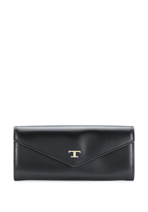 Tod's T Timeless continental wallet - Black