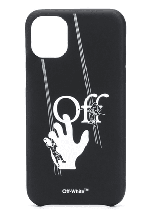 Off-White window cleaner iPhone 11 case - Black