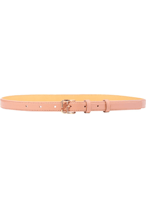 Marc Jacobs two-tone leather belt - PINK
