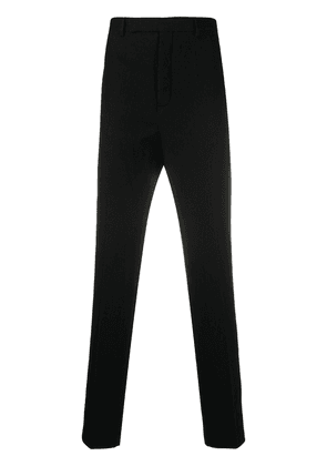 Rick Owens long tailored trousers - Black