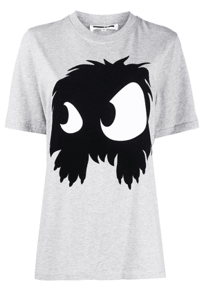 McQ Alexander McQueen printed monster T-shirt - Grey