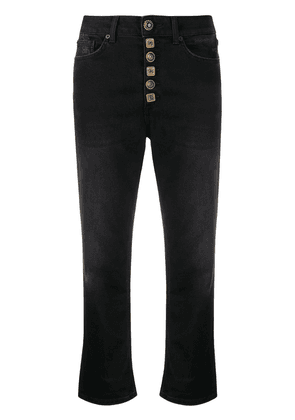 Dondup high-rise cropped jeans - Black