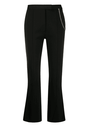Givenchy chain flared trousers - Black