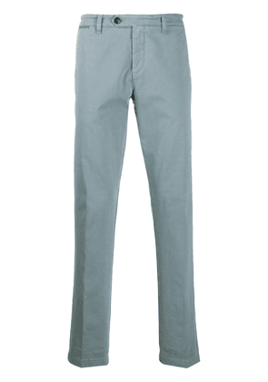 Eleventy slim-fit tailored trousers - Blue