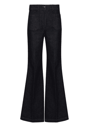 Victoria Beckham high-rise flared jeans - Blue