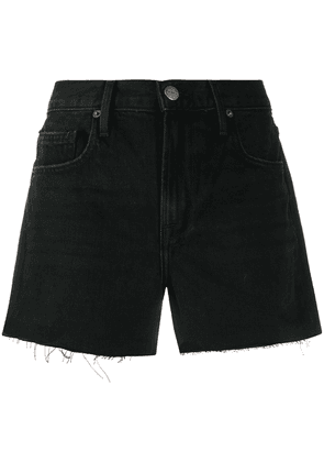 FRAME Le Brigette denim shorts - Black