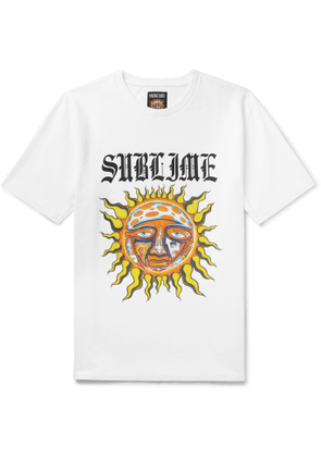 Wacko Maria - Sublime Printed Cotton-Jersey T-Shirt - Men - White