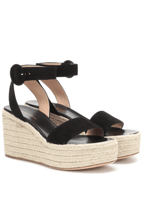 Exclusive to Mytheresa – Billie 45 suede espadrille wedges