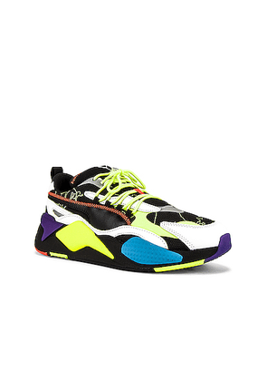 Puma Select x Centrail Saint Martins RS-X3 in Black - Black,Blue,Yellow. Size 12 (also in 10.5).