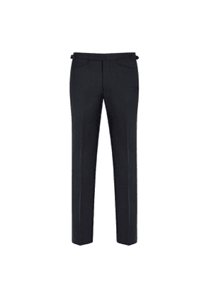 Dark Blue Connery Cavalry Twill Trousers