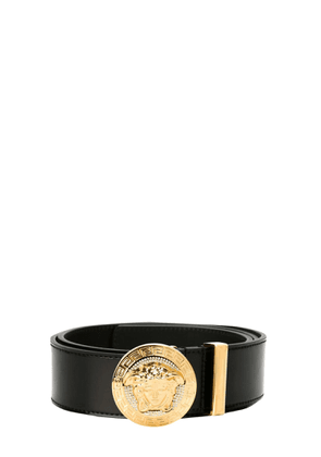 versace belt with medusa and crystals