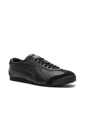 Onitsuka Tiger Mexico 66 in Black. Size 8.