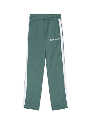 Palm Angels Classic Track Pants in Green. Size S,XL.
