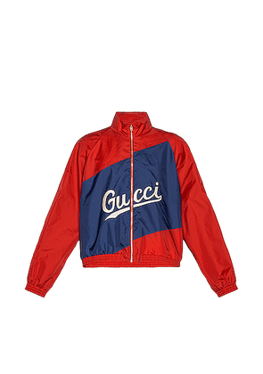 Gucci Track Jacket in Flame & Mix - Red. Size 46 (also in ).