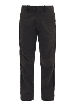 A-Cold-Wall* - Logo-patch Technical Trousers - Mens - Black